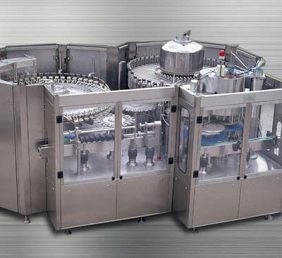 Multi-functional rotary filling system